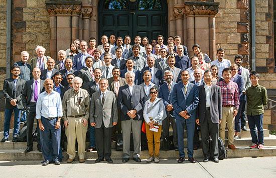 Symposium attendees