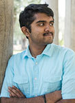 Undergraduate student Aadith Moorthy