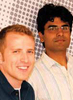 Jon Mihaly (left) and Prakhar Mehrotra (right)