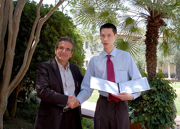 Prof. Ares Rosakis, Michael Hirshleifer