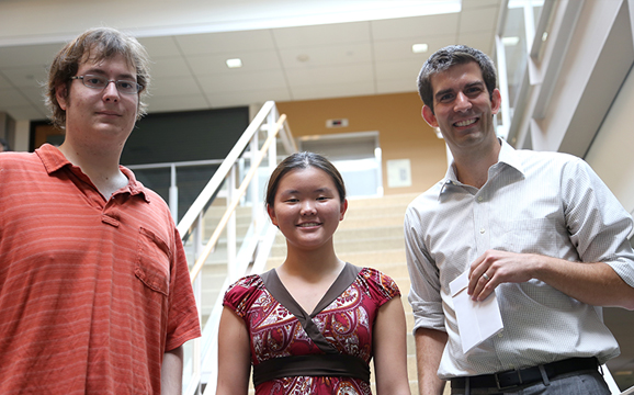 Third Place - Team Ouroboroy, presented by Moya Chen and James Macdonald
