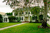 The Steele House, from Holliston Avenue