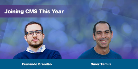 Joining CMS this year, Bandao and Omer
