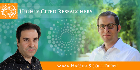 Highly cited researchers, tropp and hassibi