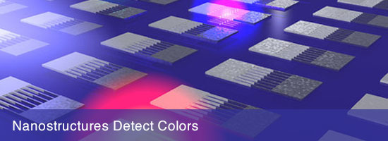 Nanostructures Detect Colors