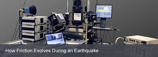 How Friction Evolves During an Earthquake