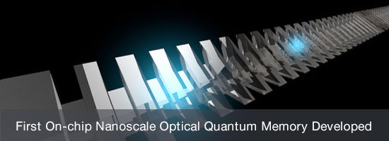 First On-chip Nanoscale Optical Quantum Memory Developed