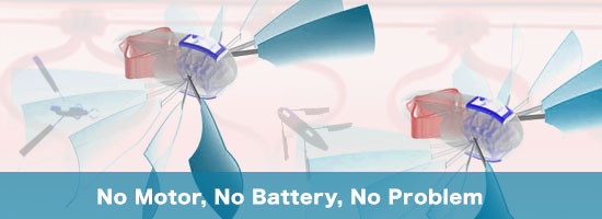 No Motor, No Battery, No Problem