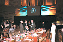 Alumni celebrating at the NYC gala