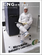 ENGenious Fall 2003 cover