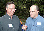 IST Managing Director Bob Carroll and CBCD (Center for Biological Circuit Design) Director Paul W. Sternberg, Professor of Biology and Investigator, Howard Hughes Medical Institute.