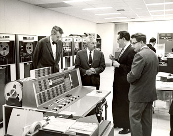 Willis H. Booth Computing Center