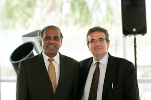Subra Suresh and Ares Rosakis
