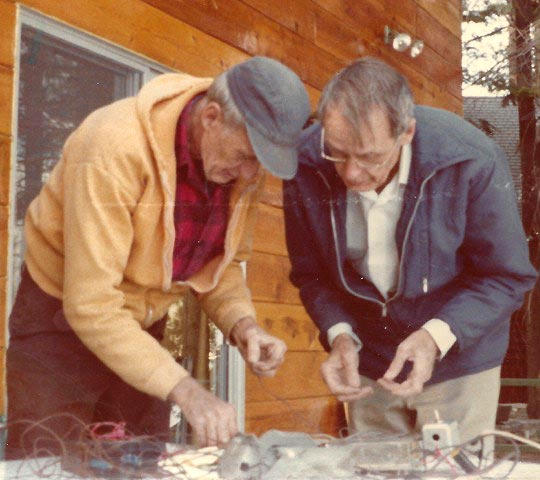 Milton Clauser, left, Francis Clauser, right: Massively parallel processing.