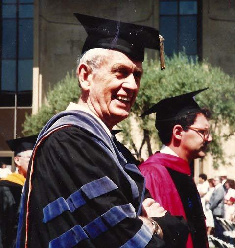 Francis Clauser, Caltech graduation, 1986.