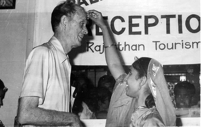 Francis Clauser, Rajasthan, 1982.
