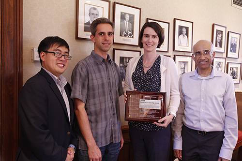NG Teaching Prize winners