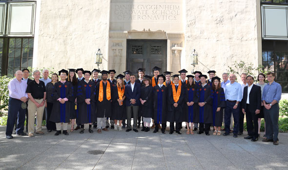 2017 Graduates and Faculty