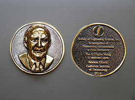 Gharib Awarded the G.I. Taylor Medal