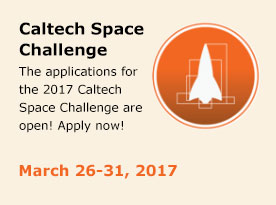 Caltech Space Challenge