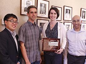McKeon Receives Northrop Grumman Prize for Excellence in Teaching
