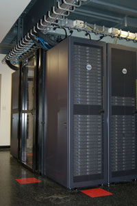 High-Performance Computing Facility hosts multiple computing clusters